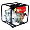 Pompe à eau manuelle diesel de début de puissance forte rouge de 3 pouces