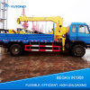 Grue hydraulique de camion de 8 tonnes avec la grande capacité utilisée