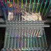 Piller da película holográfica do animal de estimação claro