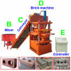 Petite chaîne de production hydraulique automatique de bloc de Lego, machine de verrouillage de brique