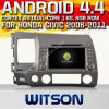 Witson Car Audio GPS DVD per Honda Civic2006-2011 (W2-F9313h)