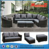 熱い販売の庭の柳細工のソファーの屋外の家具