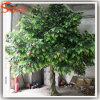 新しいデザイン常緑のガラス繊維の人工的なフルーツのりんごの木