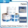 El papel de aluminio de papel para embalaje de toallitas de limpieza de vidrios