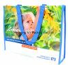 Eco coloré fait sur commande professionnel a traité les sacs à provisions tissés par pp d'emballage