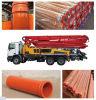 pipe soumise à un traitement thermique de résistance de pompe concrète de l'usure 45mn2