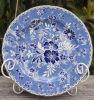 La reproducción de antigüedades chinas plato de porcelana
