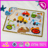 2015年の漫画Shape Kids Puzzle Toy、Children、Wooden Crafts Christmas Decoration Puzzle Toy W14m066のためのClassic Puzzle Game Toys