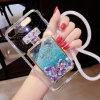 번개 iPhone를 위한 저속한 방아끈 유사 다이아몬드 전화 상자 디자인 6/7/8의 더하기 이동할 수 있는 덮개
