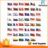 Commerce de gros / ap époxy personnalisé drapeau du pays de l'épinglette