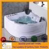 Vasca da bagno su ordinazione comoda di Masssage del mulinello delle vasche di bagno di formato di vendita calda