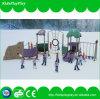 Cour de jeu extérieure de structure de parc d'attractions d'enfant neuf de glissière