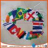 La pendaison Polyester Chaîne de la Coupe du monde d'un drapeau