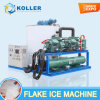 Macchina di ghiaccio approvata CE del fiocco da 10 tonnellate/giorno per l'industria della pesca/il trasporto (KP100)