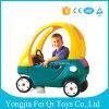 De openlucht en Binnen Plastic Rit van de Kinderen van de Auto van Jonge geitjes Populaire op het Speelgoed van de Auto