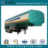 3 reboque do tanque de petróleo do petroleiro do combustível dos eixos 45000L