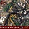 Tela de estiramiento del poliester de la raya de la tela del paño de Camourflage de la caza