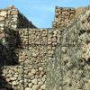 materasso esagonale galvanizzato di Gabion del TUFFO caldo 80X100