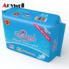 Gesundheitliche Serviette der Soem-hohe saugfähige Baumwolldame-Anion
