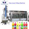 Botella de plástico de tipo lineal automático zumos de fruta fresca Línea de llenado