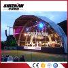 Im Freienkonzert-Stadium gewölbtes gebogenes halb Kreis-Metallaluminiumbinder-Dach-System