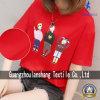 L'impression Coton T-Shirt pour dame femme