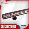 guide optique tous terrains de LED rangée 288W doubles directement 44
