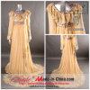 Vestido de noite da luva longa/vestido Chiffon do baile de finalistas (OK-192)