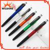 La penna di sfera di plastica dei regali di promozione con un tocco dello stilo (IP002)