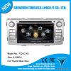 2 DIN Car DVD Player para Toyota Hilux 2012 com Built-in GPS, Dual Zone, Chipset A8, Rádio, Bt, 3G / WiFi (TID-C143)