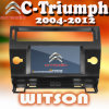 DVD de carro para Citroen C-Triumph 2004-2012 (W2-D9956CI)