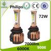 2016 nuevos kits 9006 de la linterna de Philips LED del diseño