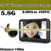 5.0 pulgadas el 100m Distance Video Recording 5.8GHz Wireless Door Camera