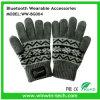 Handschoenen van Bluetooth van de Stijl van Kerstmis de Gegroefde voor Smartphone