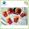 Hamburger e Chips Shape Paper Fridge Magnets (JP-FM008)