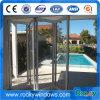 5mmの二重緩和されたガラスが付いているアルミニウム外部のBifoldドア