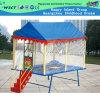 Crianças Outdoor Trampolim Trampolim com pequeno quadrado de telhado (HD-15004)