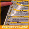 Étiquettes d'avertissement de conception et signes (BLF-D058)