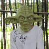 Yoda verde Mask & Star Wars Costume Mask para Party & Halloween Latex Mask