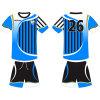 T-shirt uniforme sublimé du football du football pour l'équipe