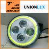 Heiße 7 '' LED Round Headlight mit H/L Beam