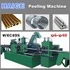 CNC en de Halfautomatische Machine van de Schil voor de Draad van de Buis van de Staaf van het Metaal