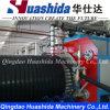 Plastikwicklung-Rohr-Produktions-Maschinerie-Höhlung-Wand-Rohr-Strangpresßling-Zeile