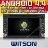日産Np300 (W2-A9900N)のためのWitson Android 4.4 System Car DVD