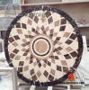 Marble Stone Tile Round Shape Waterjet Medallion for Floor Decoration