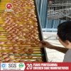 4 niveaux d'équipement agricole de la volaille Bird Cage oeuf la collecte de la machine