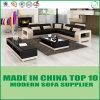 Italienische moderne Wohnzimmer-Freizeit-Italien-lederne Sofa-Möbel