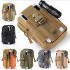 Bolso al aire libre de la cintura de la bolsa de múltiples funciones de nylon táctica militar de Molle que va de excursión