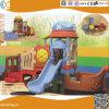 Apparatuur van de Speelplaats van de Kinderen van het Ontwerp van de Boot van de piraat de Plastic in Hoek