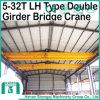 二重ガードが付いているLhのタイプ起重機クレーンをカスタム設計しなさい